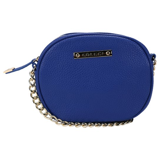 Bolsa Colcci Mini Bag Alça Corrente - Azul