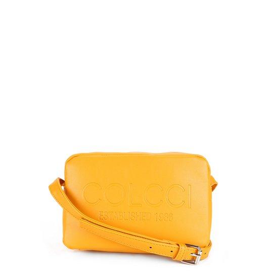 Bolsa Colcci Mini Bag Established 1986 Feminina - Amarelo