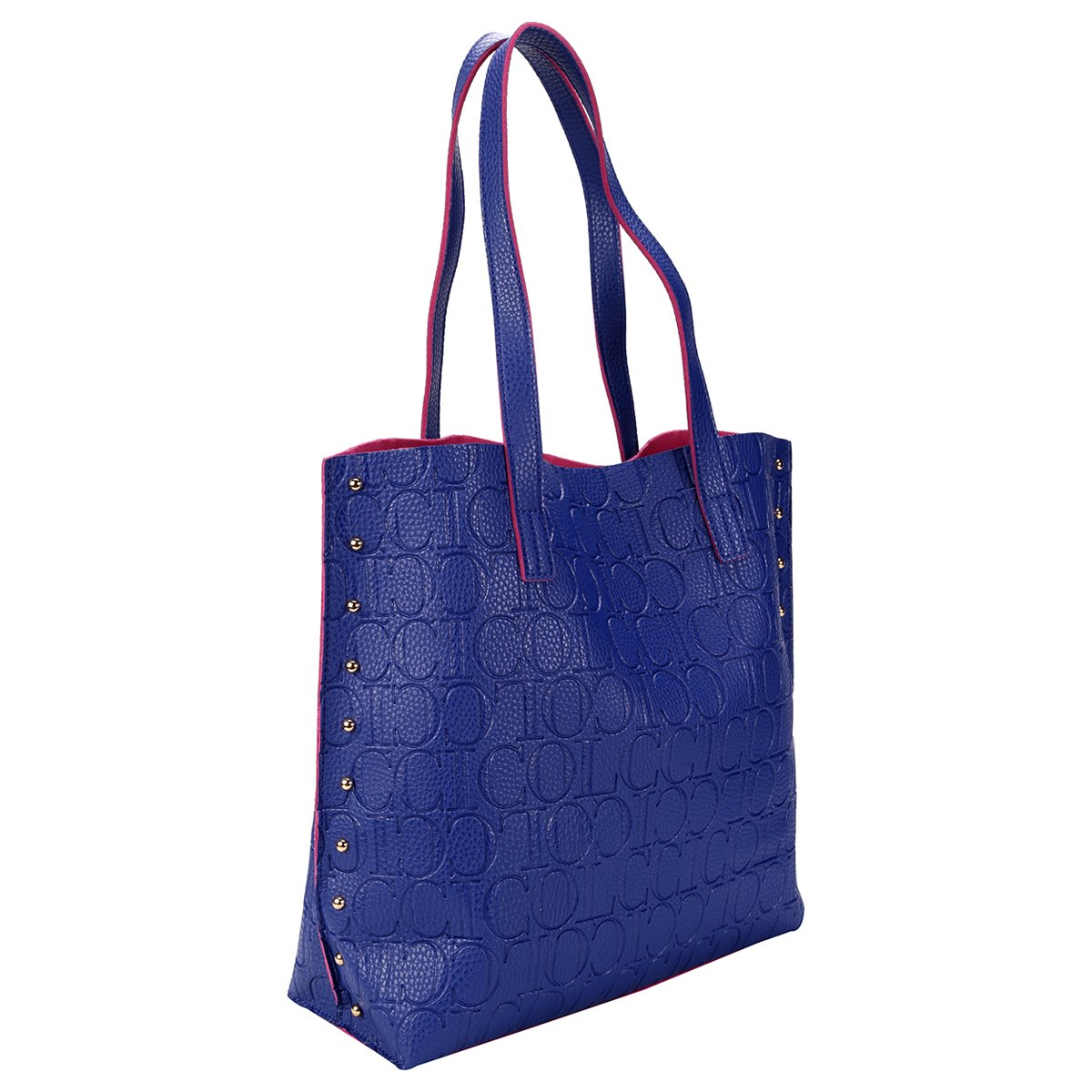 8a2745406 ... Bolsa Colcci Shop. Bag Monograma - Azul. ACESSORIOS; GEN-FEMININO
