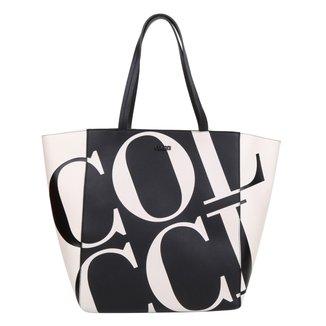 Bolsa Colcci Shopper Maxi Logo Feminina