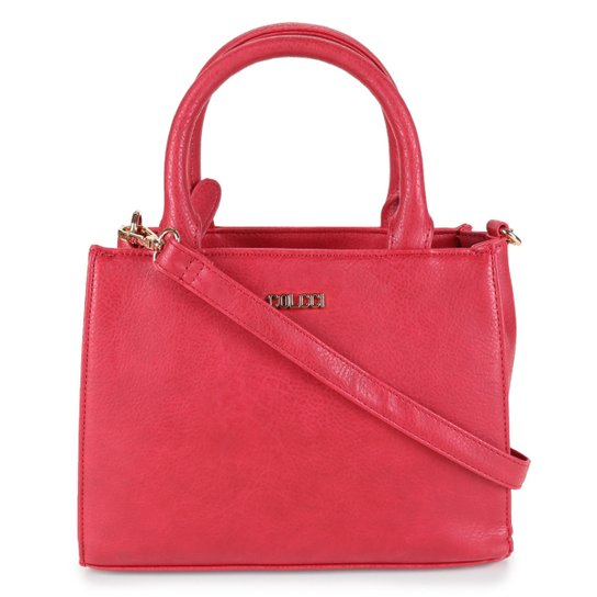 Bolsa Colcci Tote Shopper Básica Lisa Feminina - Vermelho
