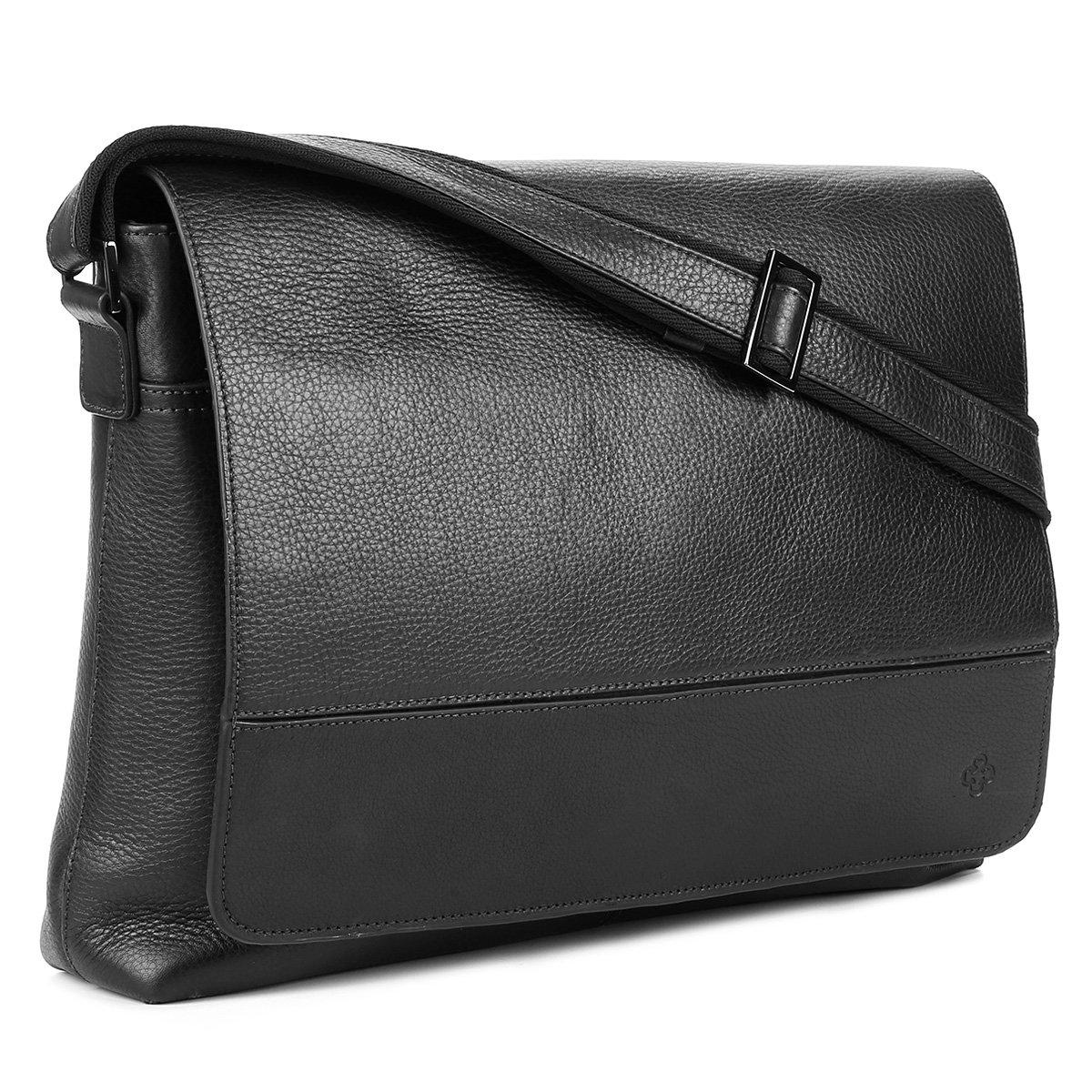 5ae73e61e Bolsa Couro Capodarte Carteiro Tumbled Masculina - Compre Agora ...