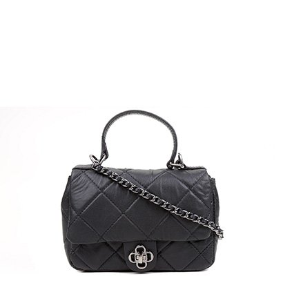 Bolsa Couro Capodarte Mini Bag Matelassê