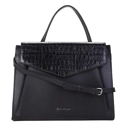 Bolsa Couro Dumond Handbag Transversal Feminina-Feminino