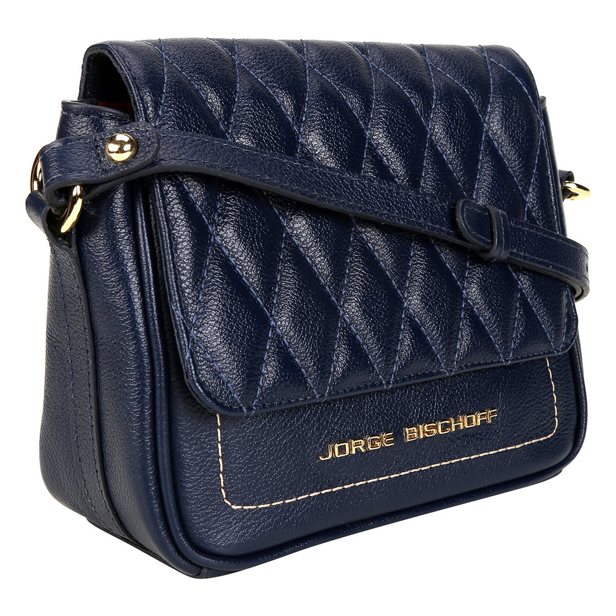 Bolsa Couro Jorge Bischof Mini Bag Matelassê Feminina - Compre Agora ... 1c71907e0aa