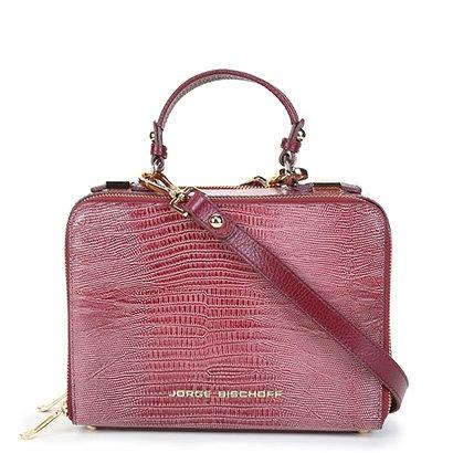 Bolsa Couro Jorge Bischoff Doctor Bag Feminina