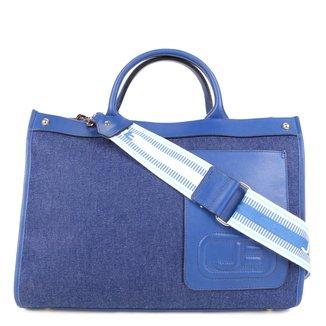 Bolsa Couro Jorge Bischoff Handbag Transversal Feminina