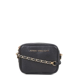 Bolsa Couro Jorge Bischoff Mini Bag Basic Feminina
