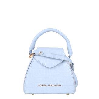 Bolsa Couro Jorge Bischoff Mini Bag Com Textura Feminina