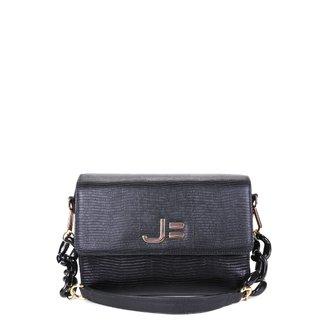 Bolsa Couro Jorge Bischoff Mini Bag Lezard Croco Feminina
