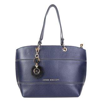 Bolsa Couro Jorge Bischoff Shopper Floater Com Charm Bag Feminina