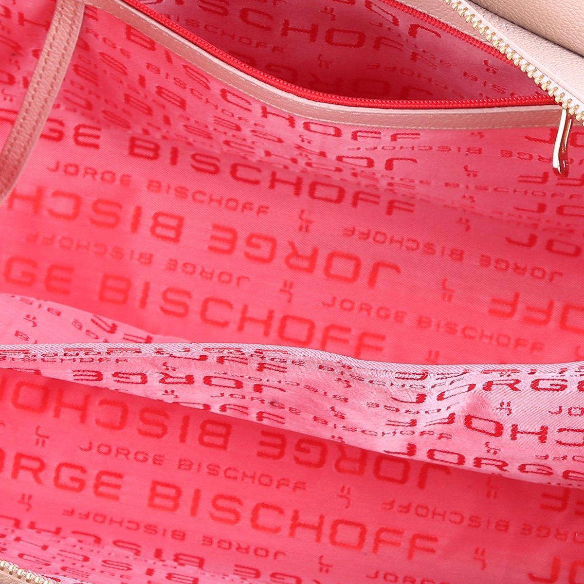 Bischoff Feminina Couro Jorge Nude Jorge Tote Bolsa Tote Bischoff Nude Couro Bolsa Croco Croco Feminina xqYOwXvp