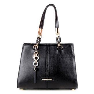 Bolsa Couro Jorge Bischoff Tote Shopper Lisa Com Charm Bag Feminina