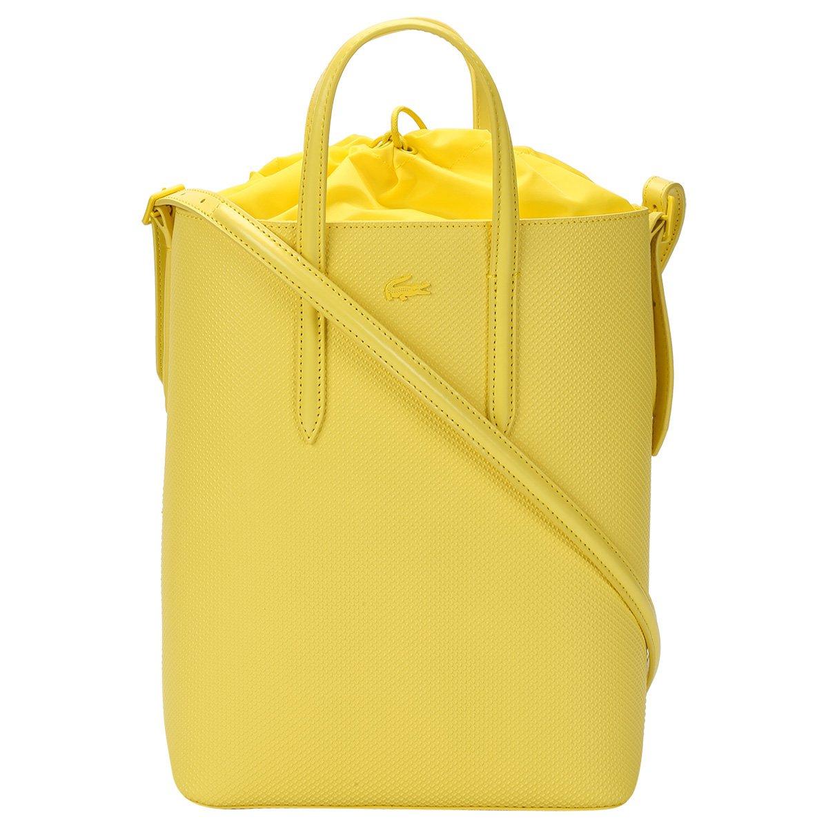 Bolsa Couro Lacoste Tote Bag Vertical Feminina - Compre Agora   Zattini bf0cb9db3b