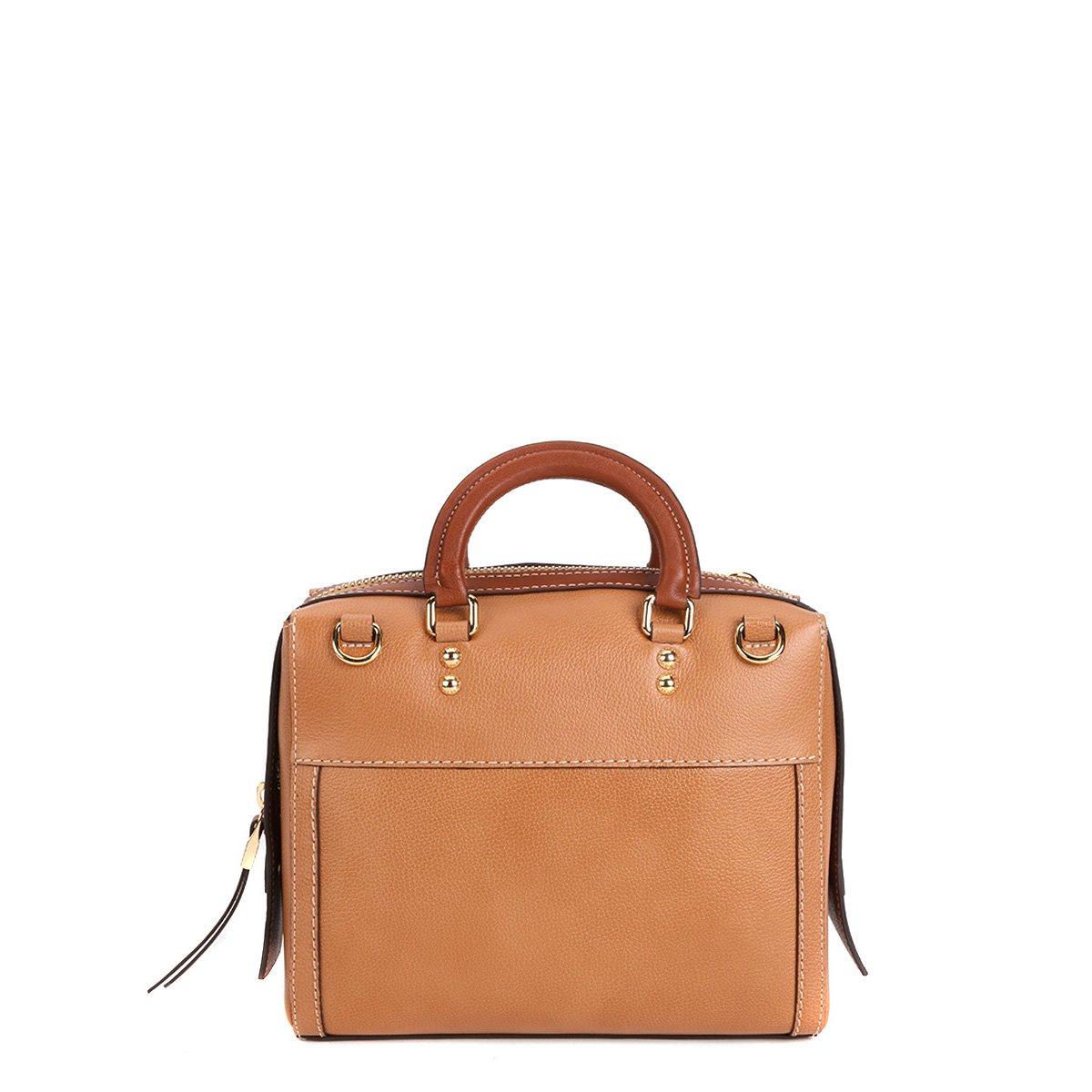 Bolsa De Mão Essencial : Bolsa couro luz da lua handbag al?a m?o recortes feminina