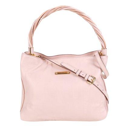 Bolsa Couro Luz da Lua Handbag Feminina