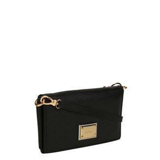 Bolsa Couro Luz da Lua Mini Bag Carteira Feminina
