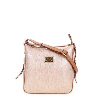 Bolsa Couro Luz da Lua Mini Bag Feminina