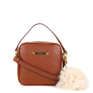 Bolsa Couro Luz da Lua Mini Bag Pequena New Ridge Feminina