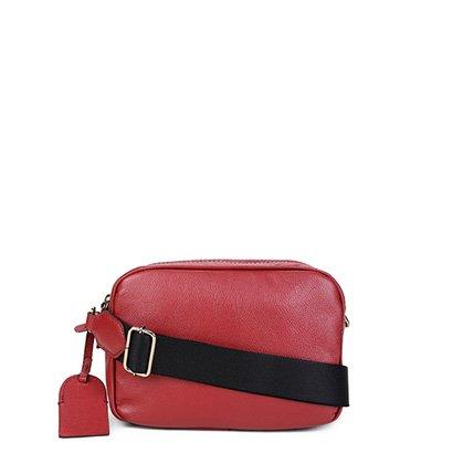 Bolsa Couro Shoestock Crossboby Feminina