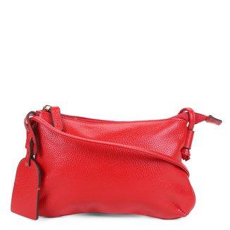 Bolsa Couro Shoestock Crossbody Travel Feminina