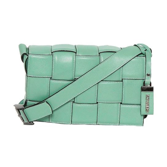 Bolsa de Couro Griffazzi Feminina - Verde claro