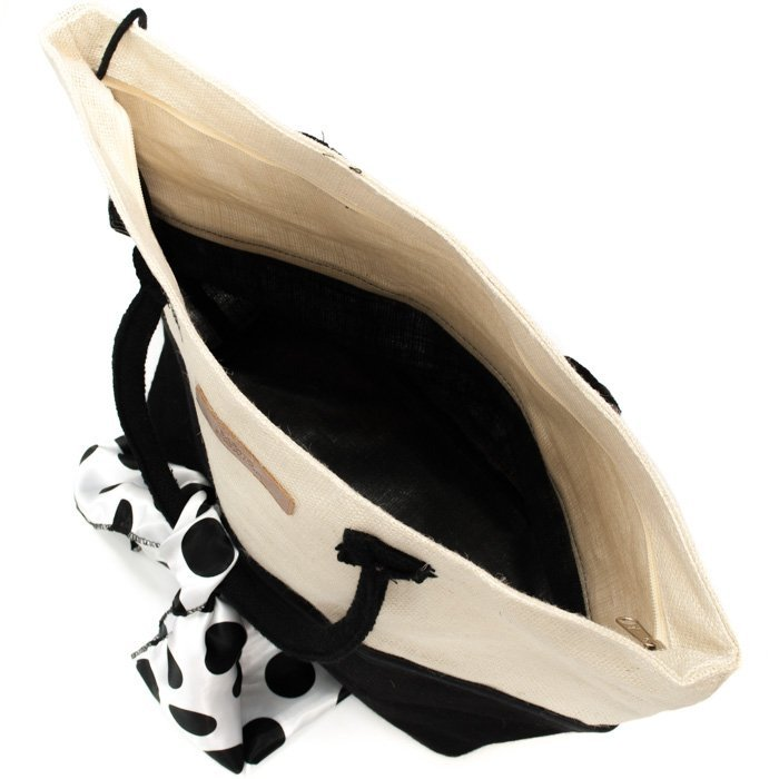Bolsa Bolsa Preto e Branco Show De Praia Sapato De 1TUdfanqxw