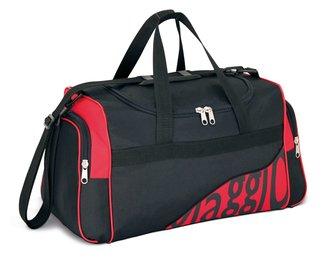 Bolsa de Viagem LS Bolsas com 2 bolsos laterais, alça de mão e alças tiracolo