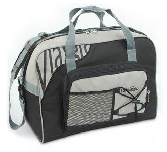 Bolsa de Viagem LS Bolsas com bolso frontal, alças tiracolo e alças de mão