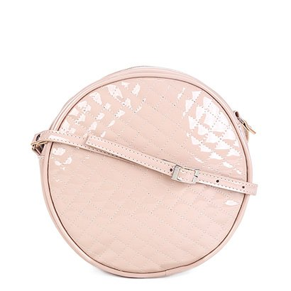 Bolsa Dergham Mini Bag Transversal Redonda Feminina-Feminino