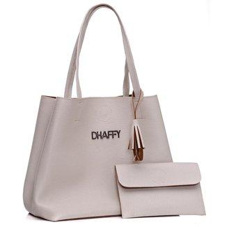 Bolsa Dhaffy Saco + Necessaire Feminina