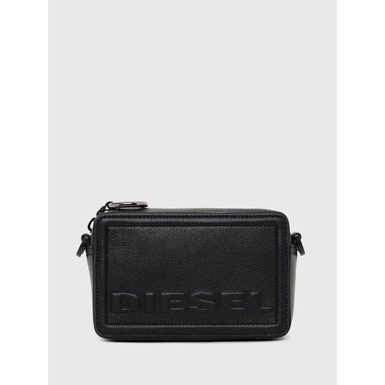 Bolsa Diesel Rosa' Cross Bodybag Feminina - Preto