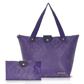 Bolsa Dobrável Jacki Design Estampada