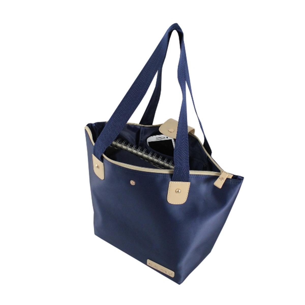 Escuro Bolsa Azul Microfibra Bolsa Dobrável Dobrável Design Jacki 0q0gOw6