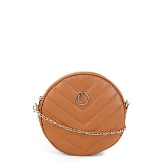 Bolsa Dumond Mini Bag Redonda Matelassê Feminina