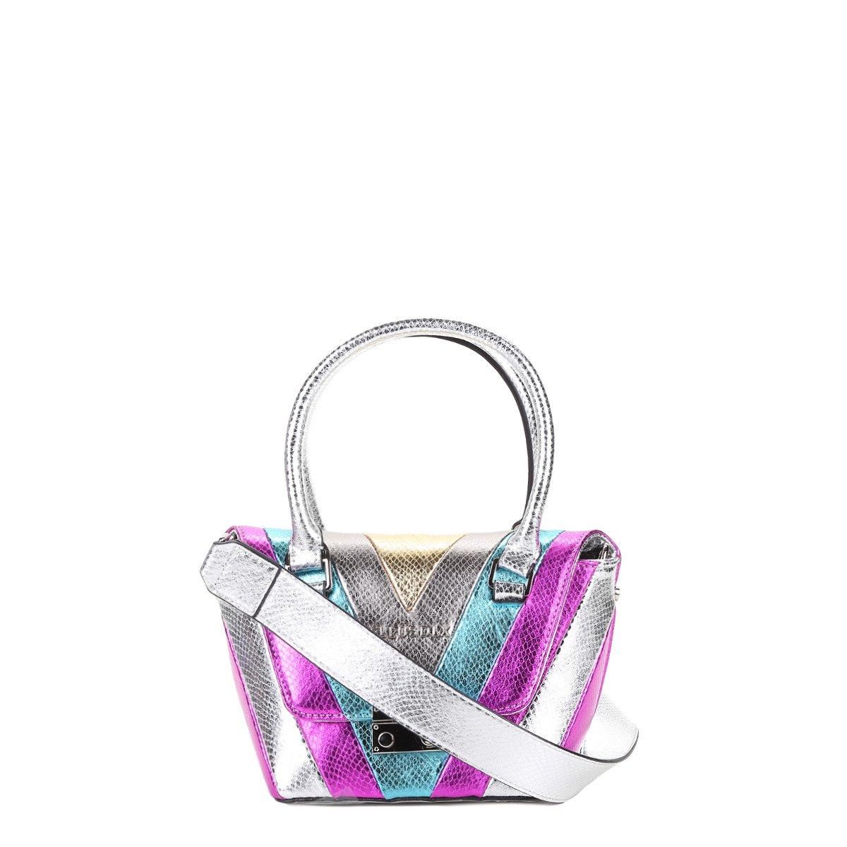 722dd4a61 Bolsa Ellus Mini Bag Patchwork Feminina - Compre Agora
