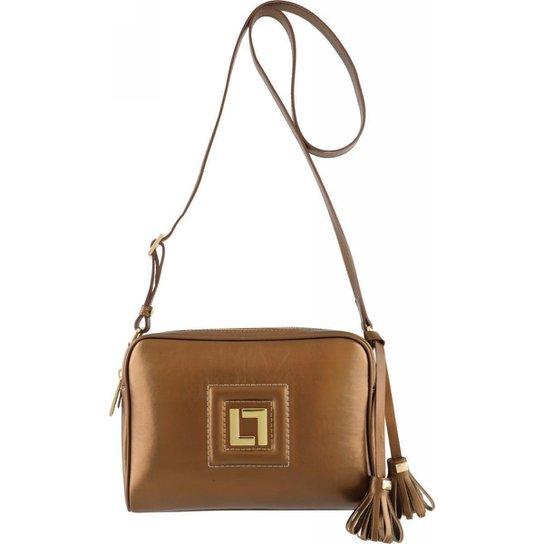 Bolsa em couro Feminina - Bronze
