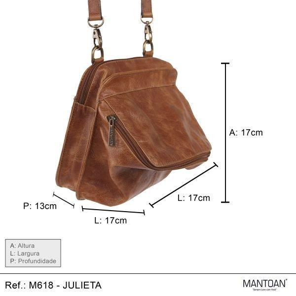 Transversal Julieta Bolsa Bolsa Caramelo M618 Mantoan Couro Feminina Feminina q0Rpwv1t