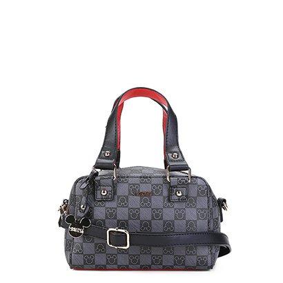 Bolsa Gash Mini Bag Monograma Mickey Alça Transversal Feminina-Feminino