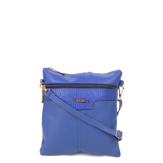 Bolsa Gash Mini Bag Tiracolo Pequena Feminina - Azul