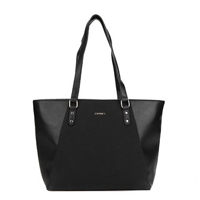 Bolsa Gash Shopper Recorte Feminina-Feminino