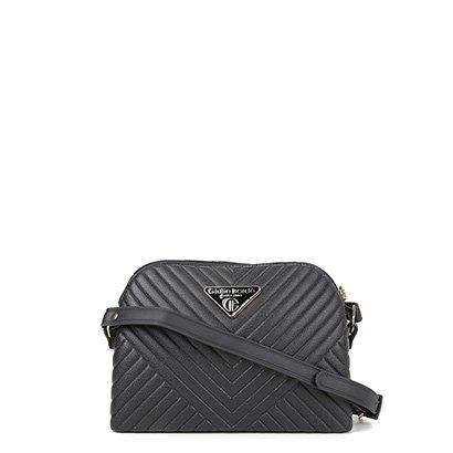 Bolsa Giulia Bardo Mini Bag Transversal Matelasse Feminina Feminino-Preto