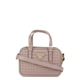 Bolsa Giulia Bardô Transversal Quadriculada Mini Bag Feminina