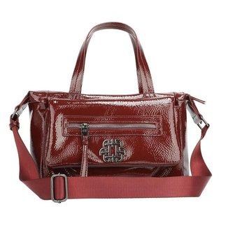 Bolsa Handbag Ana Hickmann Feminina Verniz Dia a Dia Moderna