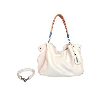Bolsa Handbag Couro House of Caju Apliques Feminina