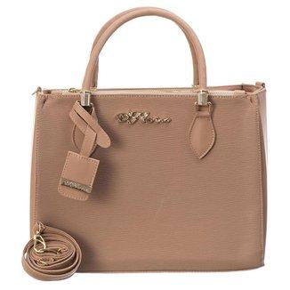 Bolsa Handbag D'Flora Alça Dupla Feminina Estilo Elegancia