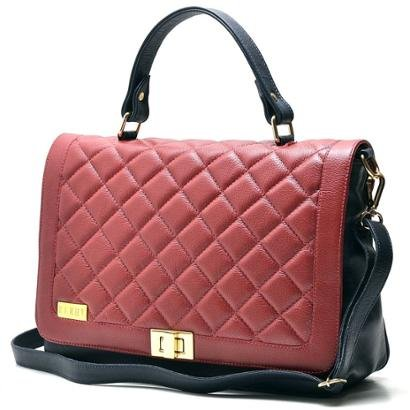 Bolsa Hendy Bag     Com Tampa Matelassê-Feminino