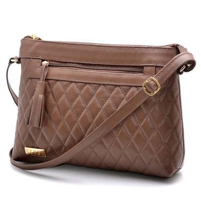 Bolsa Hendy Bag Couro Matelassê Feminina-Feminino