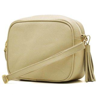 Bolsa Hendy Bag Quadrada Couro Lezar Feminina
