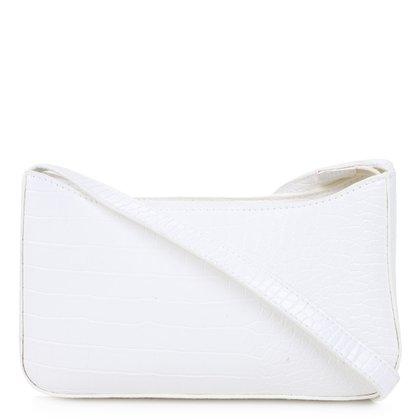 Bolsa Hering Handbag Croco Feminina